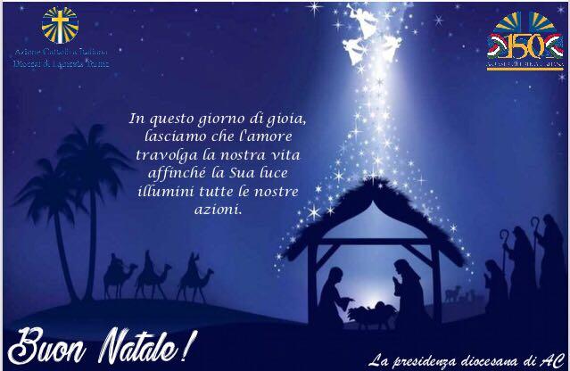Auguri Spirituali Di Natale.Messaggio Di Auguri Di Natale 2018 Azione Cattolica Diocesi Di Lamezia Terme